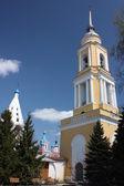 Russia, Kolomna. Belfry Novo Golutvin convent in Kolomna Kremlin. — Stock Photo
