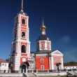 Russia. Holy Trinity Monastery Varnitsky. Holy Trinity Church with a belfry — Stock Photo