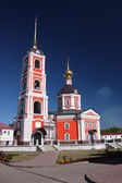 Russia. Holy Trinity Monastery Varnitsky. Holy Trinity Church with a belfry — Stok fotoğraf