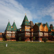 Moscow. Restored palace of Tsar Alexei Mikhailovich in Kolomenskoe. — Stock Photo