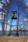 Lithuania, Druskininkai, Grutas Park. Watchtower. — Stock Photo