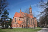 Lithuania, Druskininkai. Catholic Cathedral in the city center. — Stock Photo
