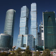 Stock Photo: Russia, Moscow. High-rise buildings in complex Moscow-City.