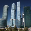 Russia, Moscow. High-rise buildings in the complex Moscow-City. — Stock Photo