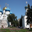 Sergiev Posad. Holy Trinity St. Sergius Lavra. Cathedrals. — Stock Photo