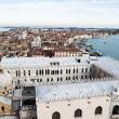 Venice from above — Foto de Stock