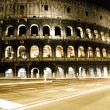 Royalty-Free Stock Photo: Roman Coliseum by night