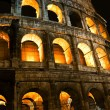 Stock Photo: Coliseum by night