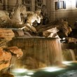 Stock Photo: Trevi fountain at dusk