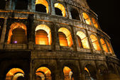Coliseum by night — Stock Photo