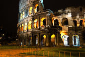 Rome Coliseum by night — Fotografia Stock