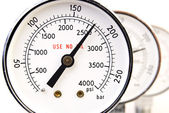 Close up of manometer — Stock Photo