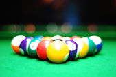 Billiards balls — Stockfoto