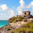 Maya ruins at Tulum, Mexico. — Stock Photo