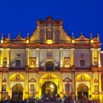 Catedral de San Cristóbal de las casas — Foto de Stock