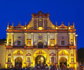 San Cristobal de las Casas Cathedral. — Stock Photo