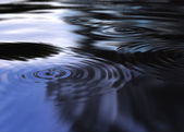 Mystic water ripples — Stock Photo