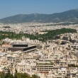 Athens skyline — Stock Photo