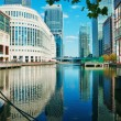 Canary Wharf, London — Foto Stock