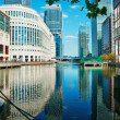 Canary Wharf, London — Stockfoto