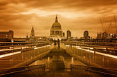 St Paul's Cathedral, London. — Stockfoto
