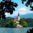 Stockfoto: Lake Bled in Slovenia