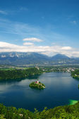 Lake Bled in Slovenia — Stock Photo