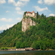 Stock Photo: Bled castle, Slovenia.