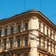 Apartment building in Budapest — Stock Photo