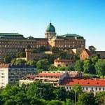 Buda Castle, Budapest, Hungary — Stock Photo