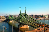Liberty Bridge Budapest — Stock Photo