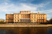 Mikhailovsky Castle. Early spring evening. St. Petersburg, Russi — Stock Photo