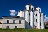 St. Nicholas Cathedral. Twelve century, Novgorod, Russia. — Stock Photo