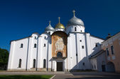 St. Sophia Cathedral. Veliky Novgorod. Kremlin Detinets — Stock Photo