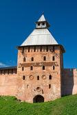 Spasski wieża nowogrodzie kreml. veliky novgorod — Zdjęcie stockowe