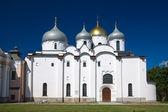 Catedral de santa sofía. kremlin detinets. nóvgorod. rusia — Foto de Stock