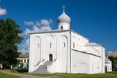 Novgorod the Great, the Church of the Assumption — Stock Photo