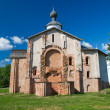 Stock Photo: Church Paraskevy Friday at auction. Veliky Novgorod