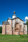 Church Paraskevy Friday at the auction. Veliky Novgorod — Stock Photo