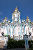 Nicholas Naval Cathedral. St. Petersburg, Russia — Stock Photo