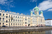 St. Isidorovskaya church. Saint-Petersburg, summer. Russia — Stockfoto