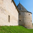 KlimentovskayTower Old LadogFortress. Leningrad Region, Star — Stock Photo #6215107