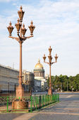 View of St. Isaac's Cathedral to the Palace Square. St. Petersbu — Stock Photo