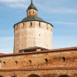 The Kirillo-Belozersky monastery. Bolshaya Merezhennaya Tower. R — Stock Photo