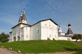 Ferapontov monastery. Holy Gates, Kazennaya palata. Russian Nort — Stock Photo