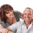 Nice elderly couple — Stock Photo #5629627