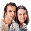 Attractive young couple. Studio portrait — Stock Photo #5672020