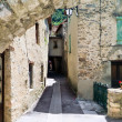 Narrow street of the old city - Stock Photo
