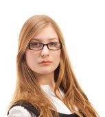 美丽的女人的肖像 — 图库照片