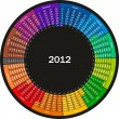 Royalty-Free Stock Imagen vectorial: Calendar 2012